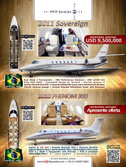 e-mail marketing CFLY Aviation - Aeronaves a venda