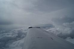 Flying around